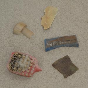 Plastic pieces 0 - 2,5 cm